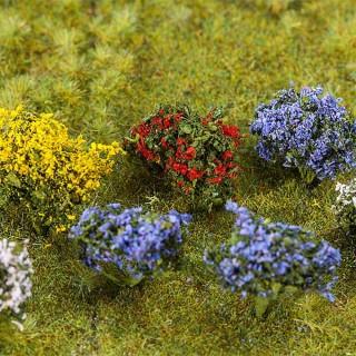 14 Buissons en fleurs-HO 1/87-FALLER 181269
