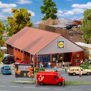 Supermarché LIDL-HO 1/87-FALLER 130615