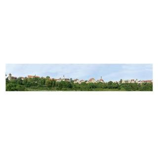 """Décor de fond """"Petite ville""""-N-1/160 et HO 1/87-FALLER 180509"""