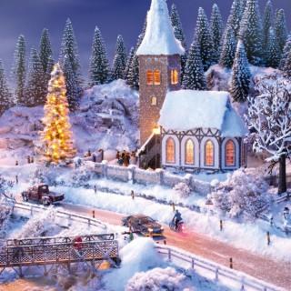 """Coffret """"Perfect-Set"""" Paysage d'hiver-HO-1/87-NOCH 60815"""
