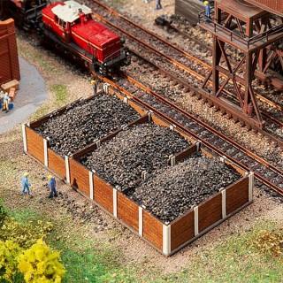 Bacs à charbon-N 1/160-FALLER 222213