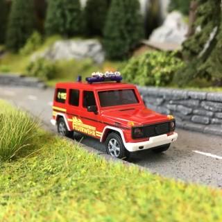 Mercedes Classe-G Pompiers-HO 1/87-BUSCH 51424