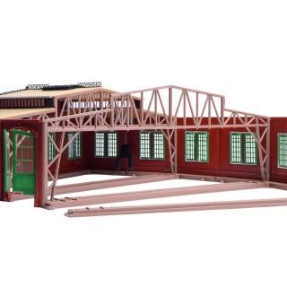 Structure de toit (galerie) pour rotonde Vollmer 45754 -HO 1/87-VOLLMER 45255