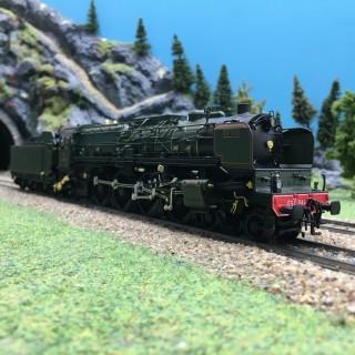 Loco 241 A 002 Est Simplon Orient Express Ep II digital son-HO 1/87-MARKLIN 39243