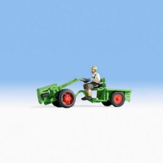 Le Jardinier et son Motoculteur-HO 1/87-NOCH 16750