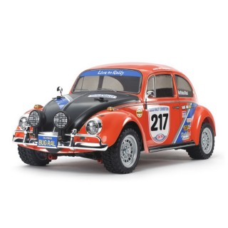 VW Beetle Rally, RTR - 1/10 - TAMIYA 58650L