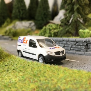 "Mercedes Citan ""FedEx""-HO 1/87-BUSCH 50614"