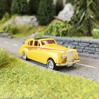 """Rolls Royce Deluxe """"Or""""-HO 1/87-BUSCH 44403"""