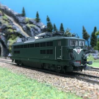 Locomotive BB17001 La Chapelle SNCF Ep III-HO 1/87-R37 41040