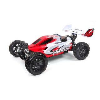 Buggy Pirate Nitron Rouge 4WD Thermique, RTR - 1/10 - T2M T4926