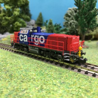 Locomotive G1000 Am 842 SBB Cargo Ep VI-N 1/160-HOBBYTRAIN H3071