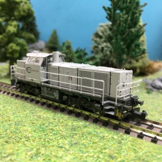 Locomotive G1000 Euro Cargo Rail Ep VI-N 1/160-HOBBYTRAIN H3072