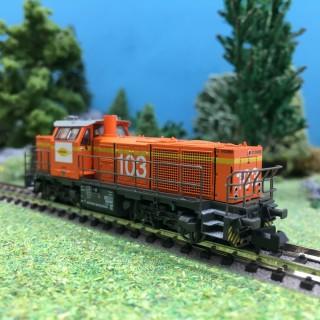 Locomotive G1000-103 Colas Rail Ep VI-N 1/160-HOBBYTRAIN H3078-1