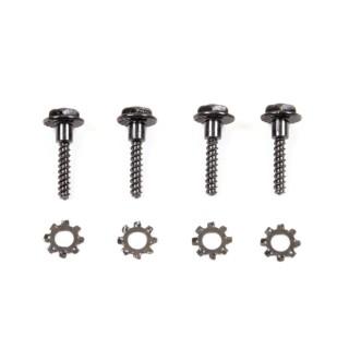 4 vis de blocage de roues 1/10 et 1/12  - T2M T4933/18