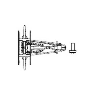 Pantographe-HO 1/87-PIKO 59540-05