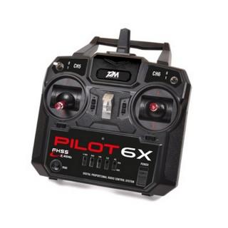 Radiocommande Pilot, 6 voies 2.4GHz - T2M T3424A