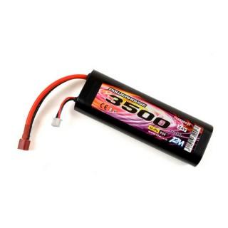 Batterie Li-Po 2S 25C powerhouse 3500 mAh, 7.4V - T2M T1335002C