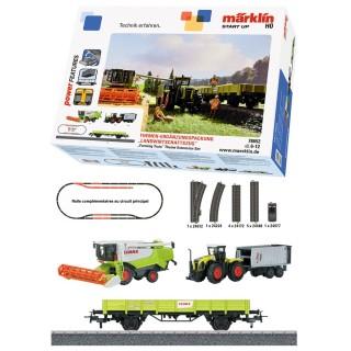 Coffret complémentaire Train agricole-HO 1/87-MARKLIN 78652