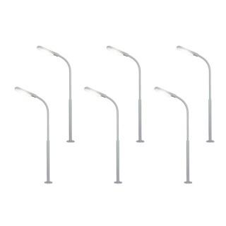 6 lampadaires de rue ou autre-N 1/160-VIESSMANN 64906