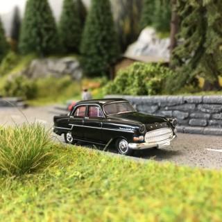 Opel Kapitän 1956 Noire-HO 1/87-BREKINA 20880