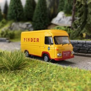Camion Saviem SG2 PINDER-HO 1/87-BREKINA 14624