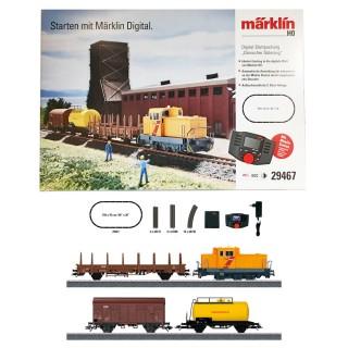 Coffret de démarrage Train de marchandises DSB-HO 1/87-MARKLIN 29467