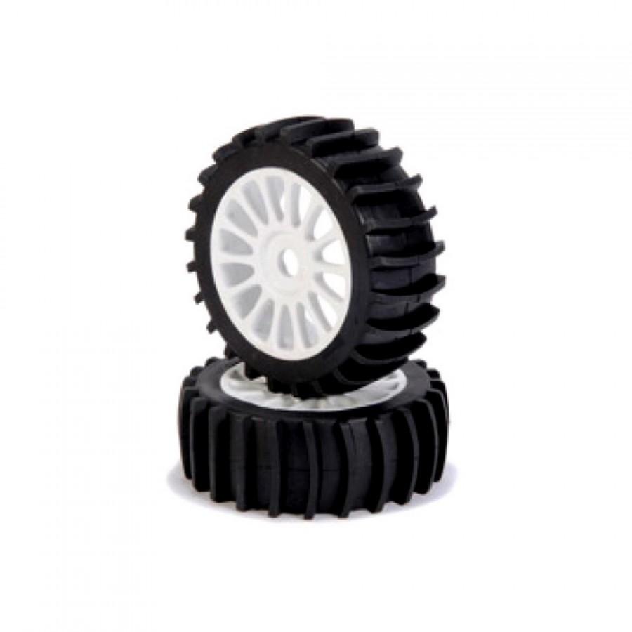 2 roues spéciales plage / sable Hexa 17 mm - 1/8 - CARSON 500900062