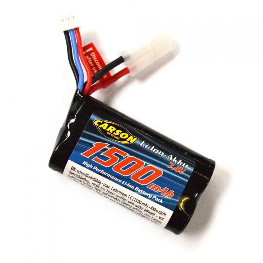 Accu Batterie Li-Ion FE-Linie 7,4 V / 1500 mAh Tam-Pl - CARSON 500608199