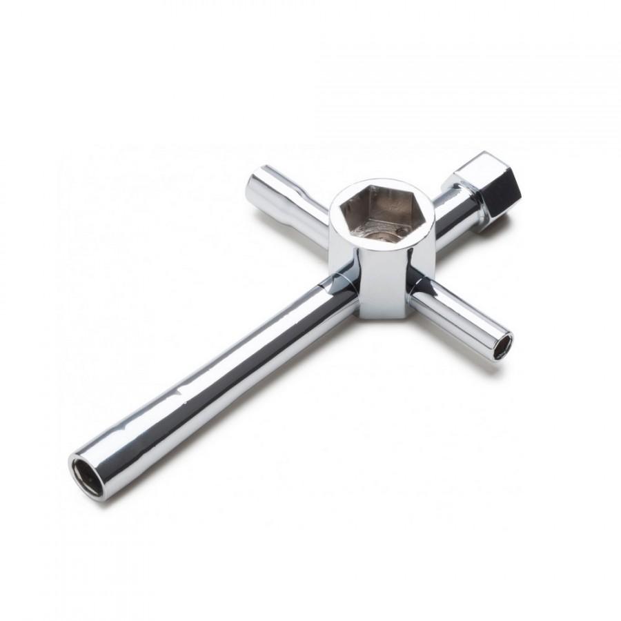 Clef en croix multi-embouts - Carson 500905065