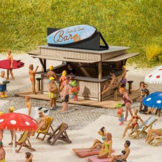 Le Bar de la plage-HO 1/87-NOCH 14260