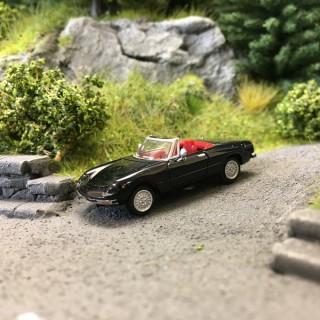 Alfa Romeo Spider Noire-HO 1/87-BREKINA 29606