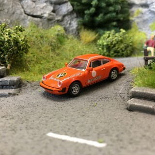 Porsche 911 G 1976 Jägermeister-HO 1/87-BREKINA 16318