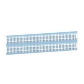 Barrières blanches : 130 cm-HO 1/87-SAI 508
