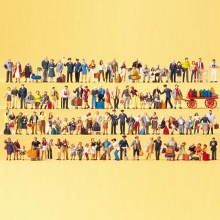 100 personnages divers + accessoires-HO 1/87-PREISER 13000