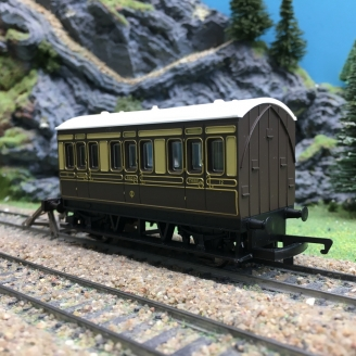 Voiture CL1 Anglaise-HO 1/87-HORNBY R446 DEP103-447
