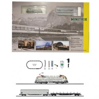 Coffret de démarrage analogique Marchandises MAV-DB-SBB Ep VI-N 1/160-MINITRIX 11151