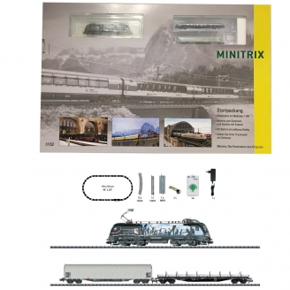 Coffret de démarrage analogique Marchandises GYSEV Ep VI-N 1/160-MINITRIX 11152