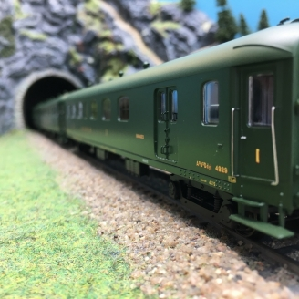 3 Voitures Rapide B9 B9 A3B3 Ep II NORD-HO 1/87-LSMODELS 40185