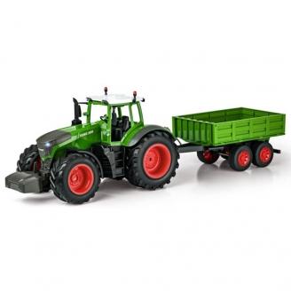 Tracteur FENDT 1050 Vario avec remorque 2WD RTR - 1/16 - CARSON 500907314