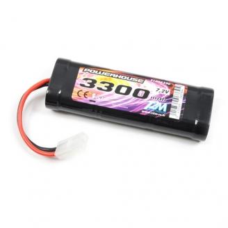 Batterie Ni-MH powerhouse 3300 mAh, 7.2V - T2M T1006330