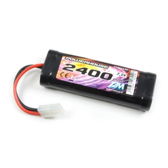 Batterie Ni-MH powerhouse 2400 mAh, 7.2V - T2M T1006240