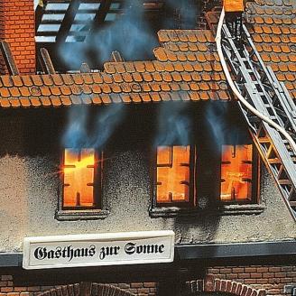 "Effets de lumières ""Flammes / Flambeau""-HO 1/87-FALLER 180695"