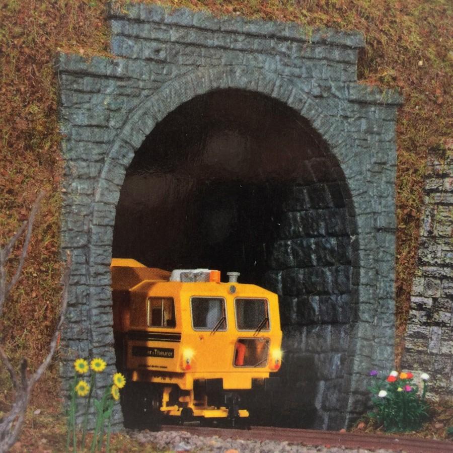 Entrée de tunnel 1 voie-HO-1/87-KIBRI 34103