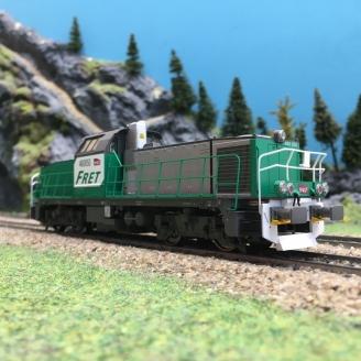Locomotive BB 60050 FRET SNCF Ep VI digital son-HO 1/87-PIKO 96478 DEP223-003