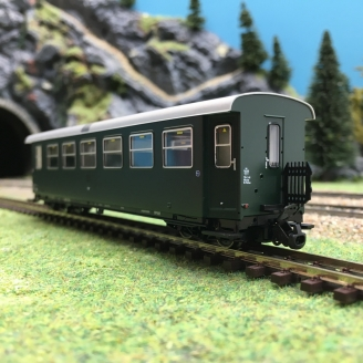 Voiture CL 2 ÖBB Ep IV-HOe 1/87-ROCO 34031