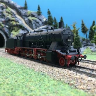 Locomotive BR 50 003 DR-HO 1/87-RIVAROSSI 1309 DEP103-452