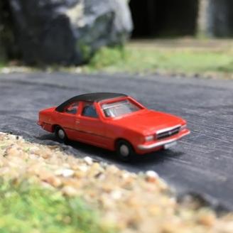 """Opel Reckord coupé D Rouge """"Toit vinyl""""-N-1/160-MINIS LC4504"""
