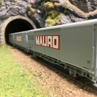 3 wagons EVS MAURO Sncf Ep IV - V-HO-1/87-LSMODELS 30665 DEP223-001