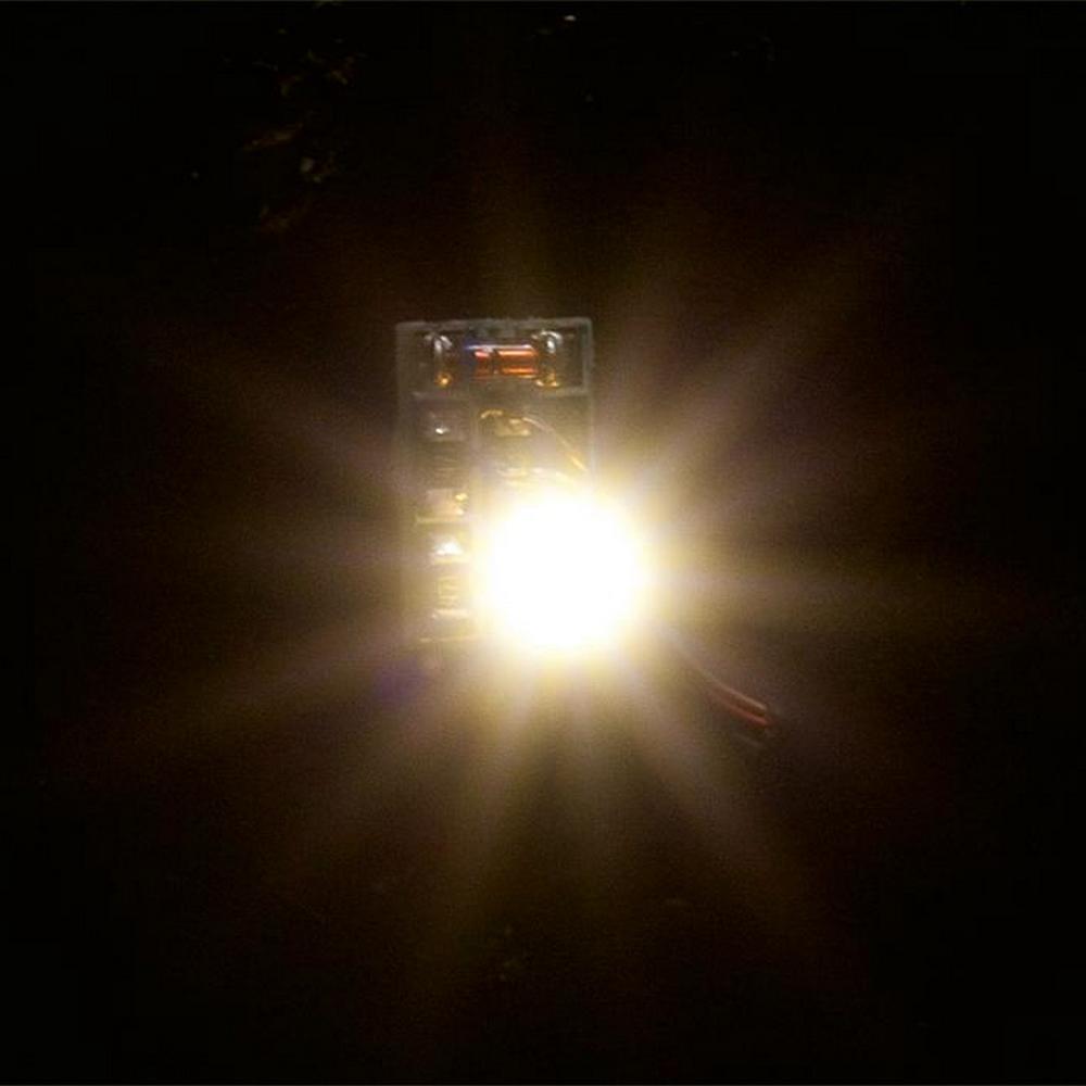12-16 V Faller 180667 DEL-Eclairage socle blanc chaud