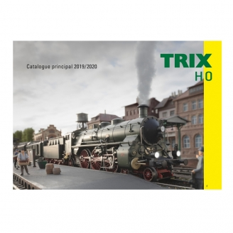 Catalogue principal Trix HO 2019-2020 français 130 pages - TRIX 19839